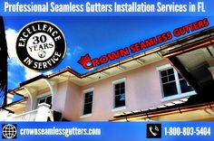 Rain & Box Gutters Installation in West Palm Beach, FL