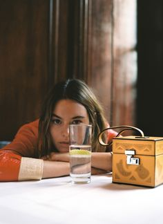 """DAY FOUR """"I love this bag because it's like a cross between a purse and a jewelry box, and you can leave it out on a table or shelf as decoration."""""""