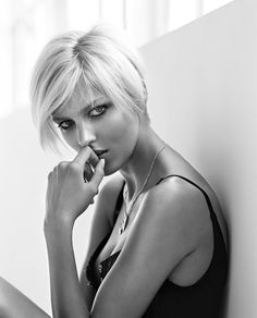 Anja Rubik [Photo: Marlena Bielinska]