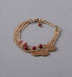 Bracelet+3+rangs+Femme