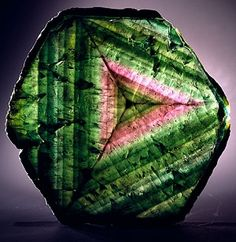 Watermelon Tourmaline (slice)