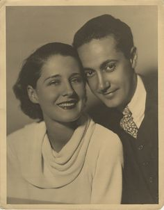 Norma Shearer and husband, Irving Thalberg