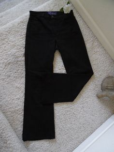 BNWOT NOT YOUR DAUGHTER'S JEANS SLIM BOOTCUT 4P~NYDJ LIFTTUCK  DARK WASH 4P~$118 #NotYourDaughtersJeans #BootCut