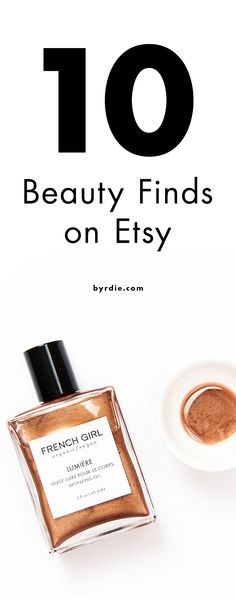10 wild, wonderful beauty products on Etsy