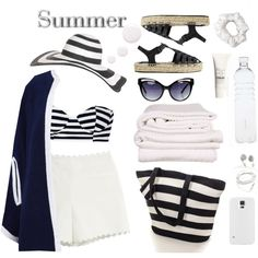 summer fashion look the day
