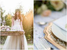 Romantic, Rustic Autumn Barn Wedding Ideas {Lightburst Photography}