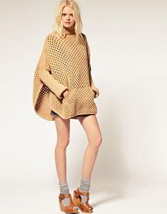 Imagen 4 de Capa tejida de lana See by Chloe