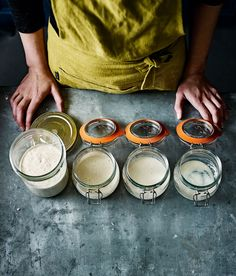 Sourdough starter and pre ferment - Baking the perfect crusty sourdough loaf can be a challenge, but the end product makes it worth the effort. Use our recipe to make your own starter and pre-ferment before using it to make your bread.