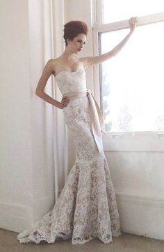 Classic Aria wedding dresses with luxurious details;