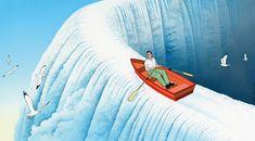 Les fantastiques dessins surréalistes de Guy Billout - Dessein de dessin
