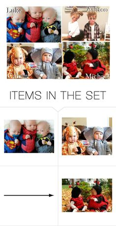 """""""Your Kids' Matching Group Halloween Costumes!"""" by x5sosxpreferencesx ❤ liked on Polyvore featuring art"""