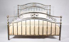 Łóżko kute metalowe Romantyka
