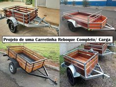 Pet Trailer, Utility Trailer, Wheelbarrow, Tractors, 21st, Delivery, Cargo Trailers, Simple Woodworking Projects, Off Road Racing