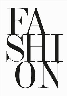 Fashion, always a must.
