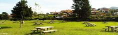 Picnic area at Espasa. Asturias, Spain. Around it you can also find a kids playground so now you have no excuse to not come and visit us here!