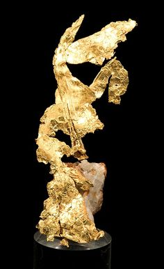 Native Gold from Eagle's Nest mine, Placer County, California, USA