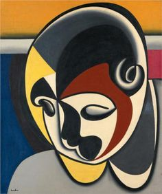 Auguste Herbin (French: 1882 – 1960)  | Abstract  Art | Untitled  - 1931