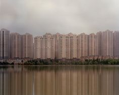 In 2015, Caemmerer photographed the Kangbashi District of Ordos, the Yujiapu Financial District near Tianjin, and the Meixi Lake development near the city of Changsha.