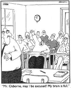 Math Cartoons, Math Comics, Far Side Cartoons, Far Side Comics, Funny Cartoons, Math Humor, Teacher Humor, Physics Humor, Engineering Humor