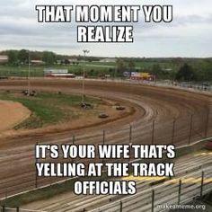 Meme Generator for a Quick Meme Sprint Car Racing, Kart Racing, Dirt Track Racing, Nascar Racing, Race Quotes, Most Hilarious Memes, Funny, Speedway Racing, Derby Cars