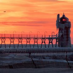 South Haven Lighthouse | Flickr - Photo Sharing! Photo by Jamie Garvison #PureMichigan