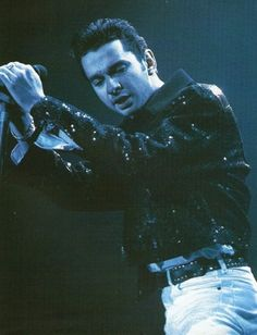 Dave Gahan @ World Violation (We NEVER get enough info when it comes to this era. pfft)