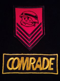 Comrade Patch, a local Sabah independent brand