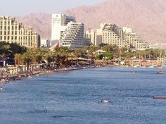 Eilat most southern point of Israel on the Red Sea, we love to come here when we are in Israel