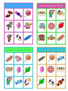 Candy Shoppe Bingo