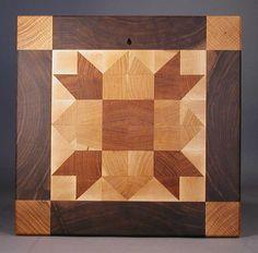 end grain cutting board   Weathervane Cutting Board