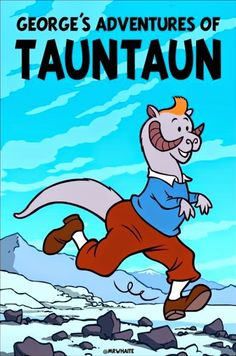 Les Aventures de Tintin - Album Imaginaire - George's Adventures of Tauntaun