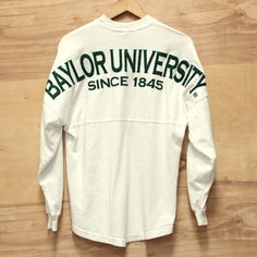 Baylor University Spirit Jersey - White