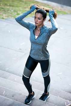 40 Trendy Workout Outfits, Gym Outfits and Yoga Outfits Ideas for Women - Lifestyle Spunk Yoga Outfits, Fitness Outfits, Fitness Fashion, Sport Outfits, Fitness Gear, Fitness Style, Fitness Apparel, Fitness Clothing, Fitness Shirts