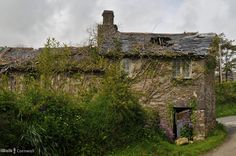Cottages reclaimed by Nature near St Neot, Cornwall-----utterly beautiful.