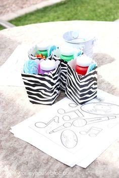 gift baskets add hot pink to the zebra basket