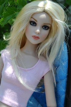 Pretty blond doll