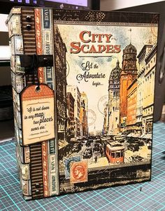 DIY Photo Album - Mr. Benjamin Graphic 45 City Scapes Final Review Part ...