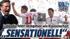Hamburger SV – Schalke 04 2:0 HSV schießt sich in die Relegation  http://www.bild.de/bundesliga/1-liga/saison-2014-2015/spielbericht-hamburger-sv-gegen-fc-schalke-04-am-34-Spieltag-41073630.bild.html    Paderborn – Stuttgart 1:2 Ginczek rettet VfB, Paderborn runter  http://www.bild.de/bundesliga/1-liga/saison-2014-2015/spielbericht-sc-paderborn-07-gegen-vfb-stuttgart-am-34-Spieltag-36651358.bild.html