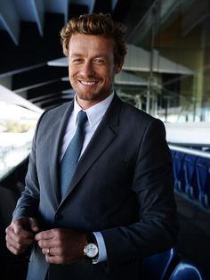 Simon Baker Model, Actor, the Mentalist