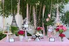 Paris inspired dessert bar!
