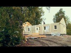 Katso miten muuttovalmiit Älvsbytalot rakennetaan!  #muuttovalmis #talopaketti #älvsbytalo