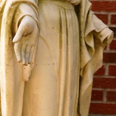 Our Lady of Brokenness - Hands closeup - 1200x1200