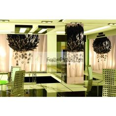 Large Black Feather Balls / Rose Balls/Flower Balls Wedding Centerpieces Wholesale Bulk Discount Cheap