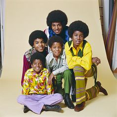 Jackson 5... love them. Michael is by far the most attractive.