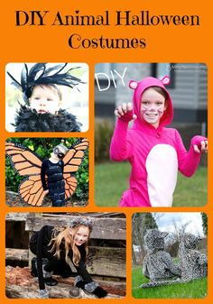 DIY Animal Halloween
