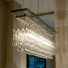 Light Drizzle Rectangular 100cm - Janey Butler Interiors