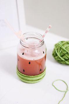 DYI, reaproveitamento, reciclagem, faça você mesmo, mason jar, pote de vidro, bebidas.