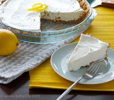 4 Ingredient Lemon Cream Pie. As simple as homemade dessert gets