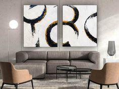Set of 2 Minimalist Painting on Canvas Modern Canvas Art image 0 Dinning Room Wall Art, Bathroom Wall Art, Living Room Art, Painting Of Girl, Large Painting, Body Painting, Modern Canvas Art, Modern Wall Art, Minimalist Painting