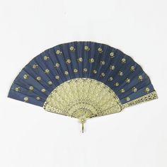 Pleated Fan, 1840–60